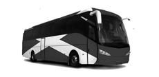 Fotografía pequeña de un autobús de la autoescuela pegasus de Ávila