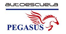 Logotipo de la autoescuela pegasus en ávila